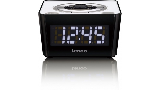 Lenco CR-16 Wekkerradio Wit