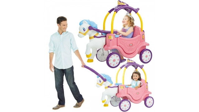 Little Tikes Princess Horse & Carriage Loopauto