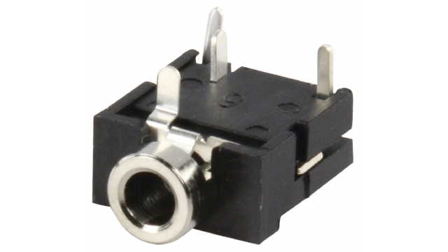 Lumberg LUM-KLBR4 Stereo Connector 3.5 Mm Female Pvc Zwart