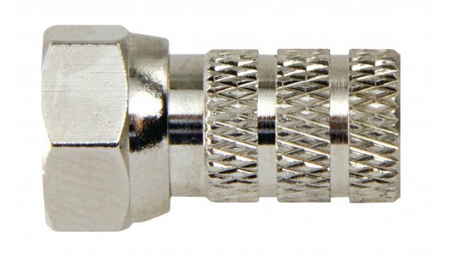 Macab F4331113 F-connector Female / Male Nylon 6.6 Zilver