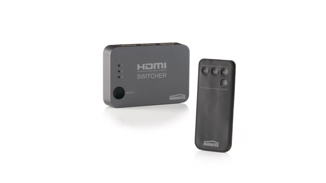 Marmitek Connect 310 UHD Automatische HDMI Switch 3P