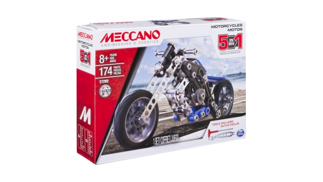 Meccano Multi 5in1 Motorcycle