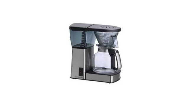 Melitta Excellent Steel Retro Koffiezetter RVS