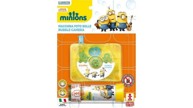 Minions Bubble Camera + Bellenblaas 60ml