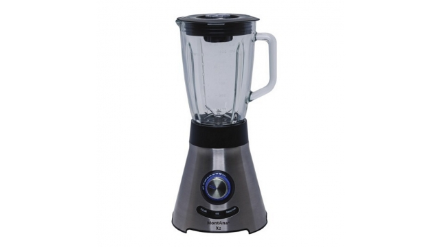 MontAna X2 Power Blender RVS/Zwart