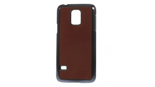 MW Hard Case Plated Bruin voor Samsung Galaxy S5 Mini