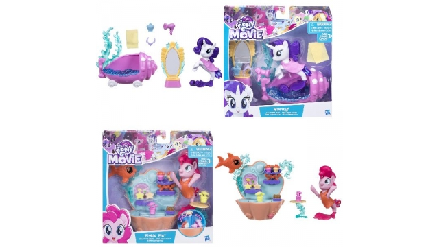 My Little PonyThe Movie onder Water Scenes Assorti