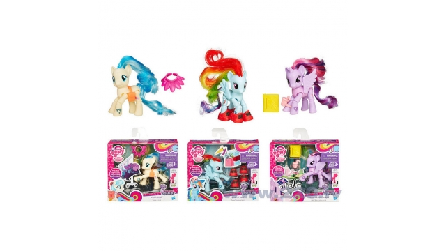 Hasbro My Little Pony Explore Equestra Beweegbare Pony Assorti