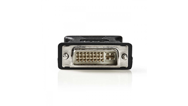 Nedis CCGP32900BK Dvi - Vga-adapter Dvi-i 24+5-pins Male - Vga Female