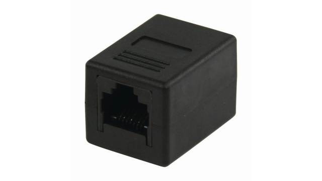 Nedis CCGP89000BK Cat5-netwerkadapter Rj45 Female - Rj45 Female Zwart