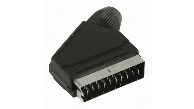 Nedis CVGP31990BK Scart-connector Male - Zwart