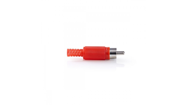 Nedis CAVC24905RD Rca-connector Rca Male 25 Stuks Rood