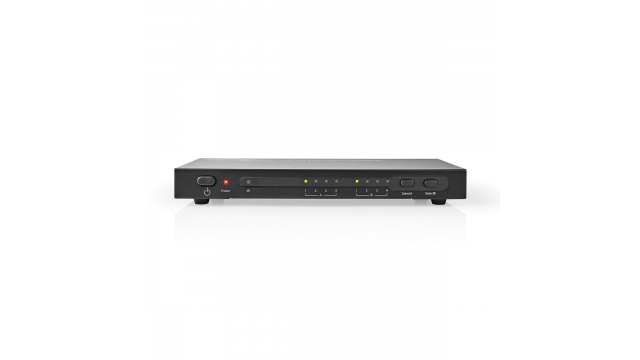 Nedis VMAT3462AT Hdmi™ Matrix-switch 4-naar-2-poorts - 4x Hdmi™ Ingang 2x Hdmi™-uitgang