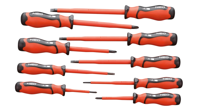 Neo Tools Schroevendraaierset 1000v 9 Dlg CRMO Staal TUV M+T