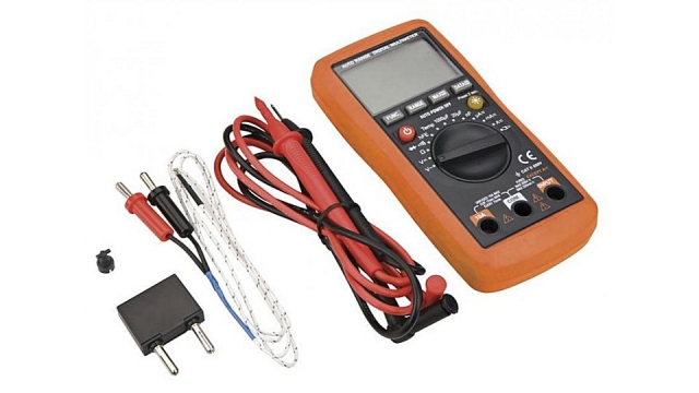 Neo Tools Multimeter LCD 1999 Data Hold,