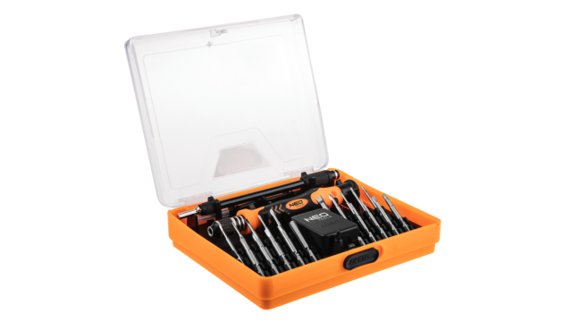 Neo Tools Precisie Schroevendraaierset 23dlg S2 Staal TUV M+T