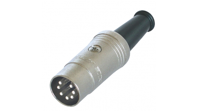 Neutrik NTR-NYS323 Connector Din Male Metaal Zilver