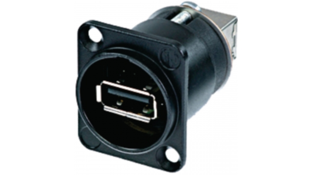 Neutrik NTR-NAUSB-W-B Usb Device Socket