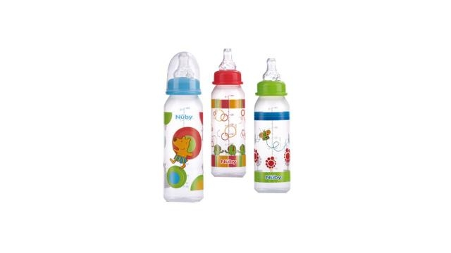 Nuby Baby Drinkfles 240ml Assorti