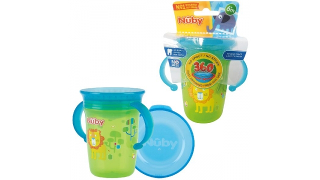 Nuby Drinkbeker 360° Wonder Cup 240ml