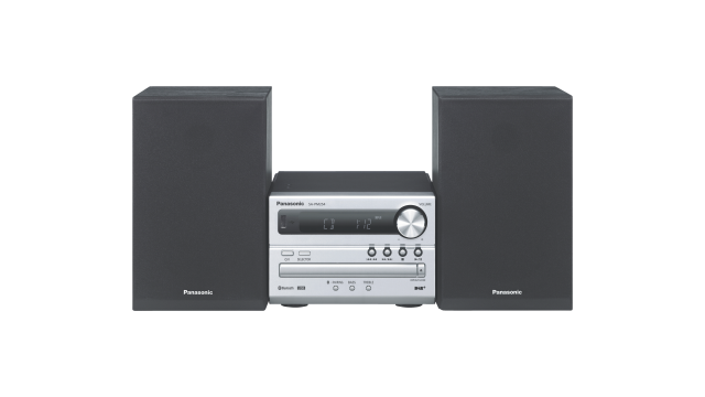Panasonic SC-PM254EG CD Microsysteem met DAB+ & Bluetooth Zilver