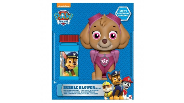 Paw Patrol Skye Bellenblaasmachine 118ml