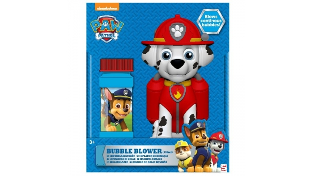 Paw Patrol Marshall Bellenblaasmachine 118ml