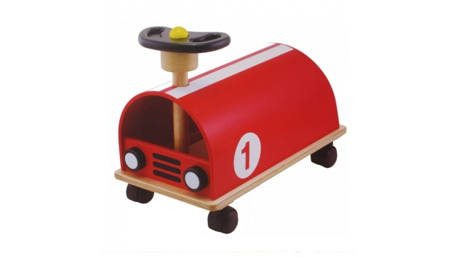 Pintoy My Red Racer Houten Loopauto Rood