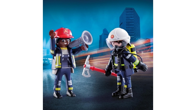 Playmobil 70081 Duo Pack Brandweerlui