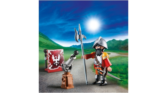 Playmobil 70086 Ridder met Kanon in een Ei
