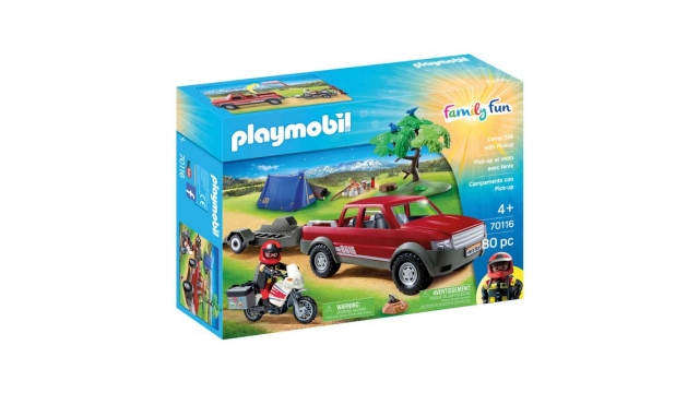 Playmobil 70116 Family Fun Pick-Up Truck Adventure