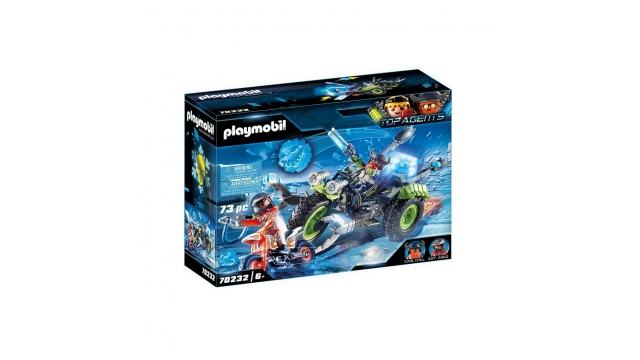 Playmobil 70232 Top Agents Arctic Rebels Sneeuwtrike + Licht en Geluid