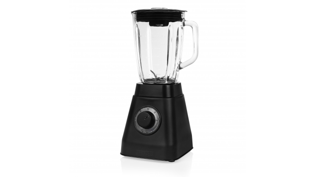 Princess 212085 Black Steel Collectie Blender RVS/Zwart