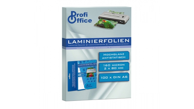 ProfiOffice PO-19001 Lamineerhoes 80 Micron 100 Vel A6 111x154mm