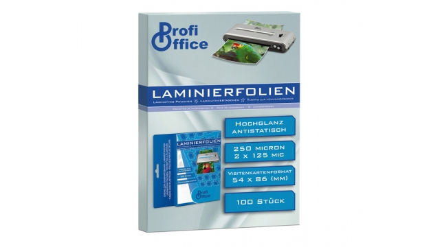 ProfiOffice PO-19034 Lamineerhoes 125 Micron 100 Vel 54x86mm