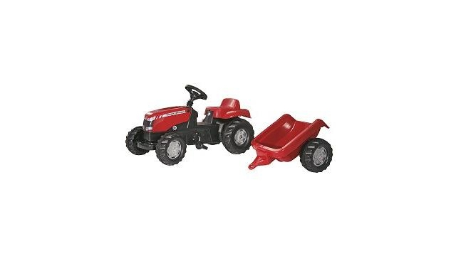 Rolly Toys 012305 RollyKid Massey Ferguson Tractor + Aanhanger