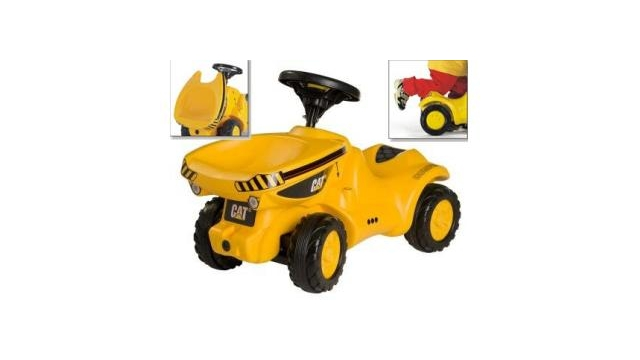 Rolly Toys 132249 RollyMinitrac CAT Dumper Loopauto