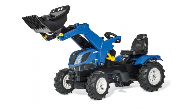 Rolly Toys 611270 RollyFarmtrac NH Tractor met Lader