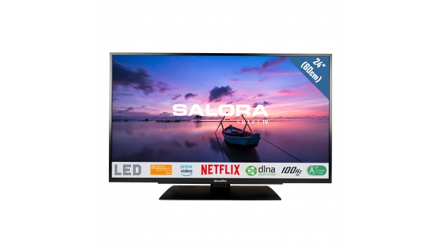 Salora 24HSB6502 HD Ready Smart LED-TV 61 cm Zwart