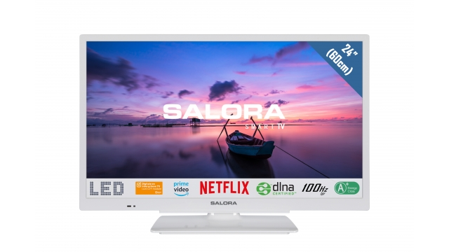 Salora 24HSW6512 Smart LED-TV 60cm Wit