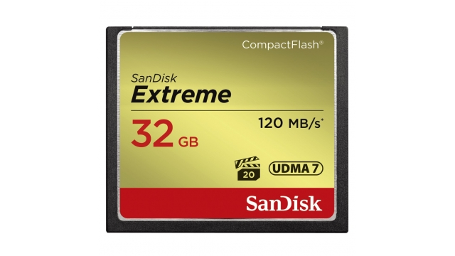 Sandisk CF Extreme 32GB 120MB/s Read 85MB/s Write
