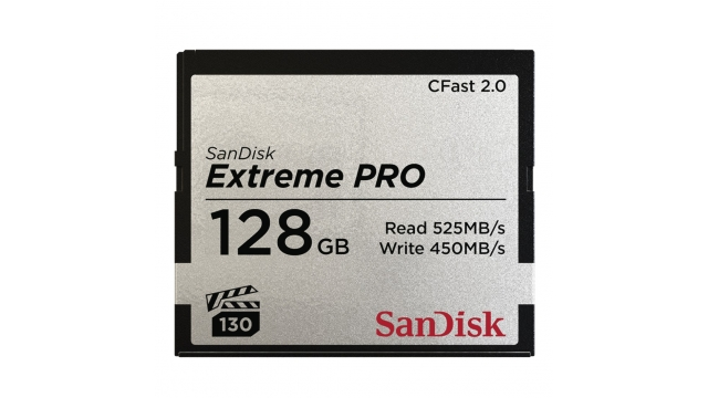 Sandisk Extreme Pro CFAST 2.0 128GB 525MB/s VPG130