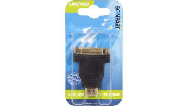 Scanpart Adapter Hdmi(m)-dvi-d(f)