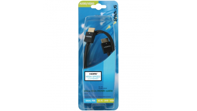 Scanpart Hdmi Kabel Hs En E Thin 1.0m