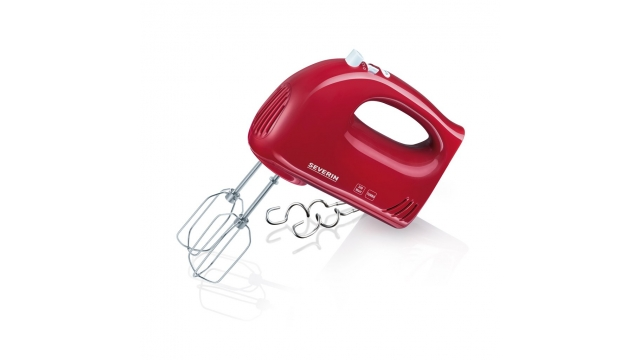 Severin HM3821 Handmixer Rood/Wit 300W