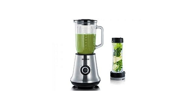 Severin SM3737 2in1 Blender Smoothie Multimixer RVS