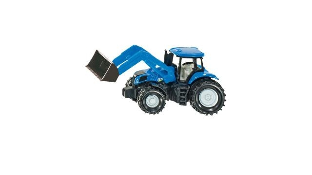 Siku 1355 New Holland Tractor + Voorlader
