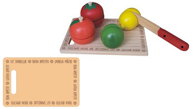 Simply for Kids Houten Fruit Snijset