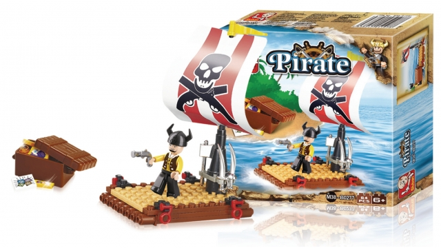 Sluban M38-B0277 Pirate Piratenvlot