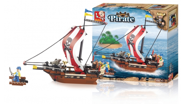 Sluban M38-B0279 Pirate Schip